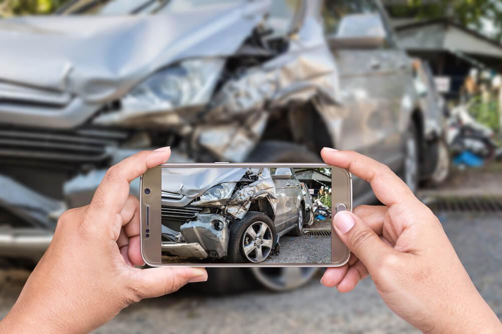 צילום תאונת דרכים